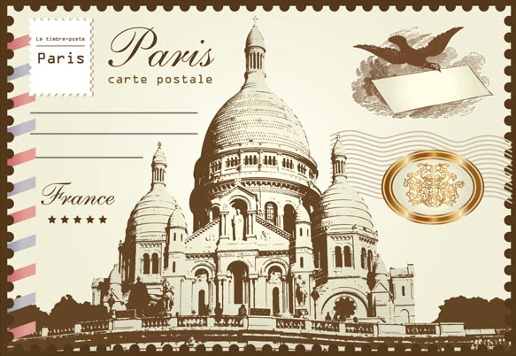 Paris France Postcard